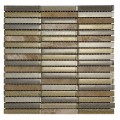 Lowry Stone Mixed Rectangular Mosaic Sheet 306x306mm