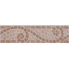 Mosaic Scroll Beige Strip