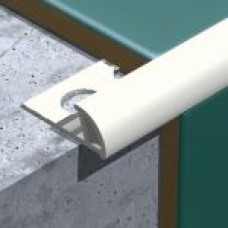 P.V.C Economic Tile Edge Trim (10mm Depth)