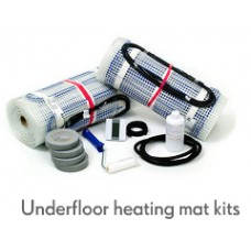 Electric underfloor heating 150w mat kit
